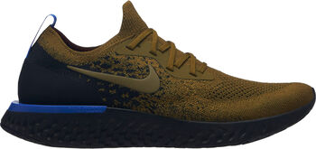 Nike Epic React Flyknit hardloopschoenen Heren Groen