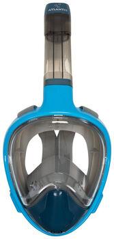 Atlantis 3.0 snorkelmasker Blauw