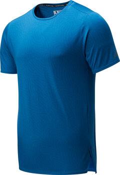 New Balance Q Speed Jacquard shirt Heren Blauw