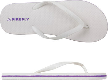 FIREFLY Madera slippers Dames Wit