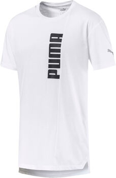 Puma Energy Triblend Graphic shirt Heren Wit
