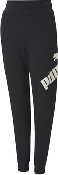 Puma Big Logo kids joggingbroek Jongens Zwart