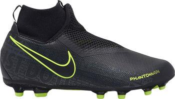 Nike Phantom Vision Academy DF FG/MG jr voetbalschoenen Jongens Zwart