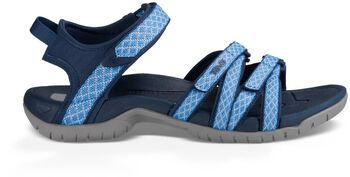 Teva Tirra sandalen Dames Blauw