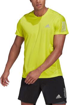 adidas Own the Run t-shirt Heren Geel