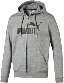Puma Essential No. 1 FZ vest Heren Grijs