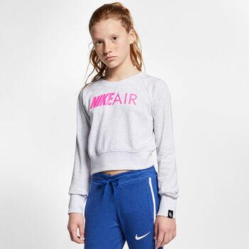 Nike Sportswear Air Crew sweater Meisjes Zwart