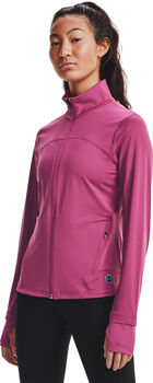Under Armour Rush Full-Zip vest Dames Roze