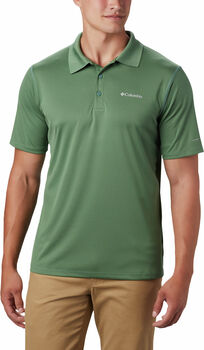 Columbia Zero Rules polo Heren Groen