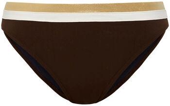 Cyell bikinibroekje met strikdetail Dames Bruin