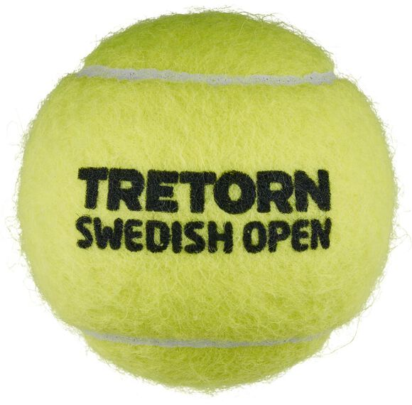 Swedish Open 4-tube tennisballen