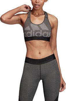 adidas Don't Rest Alphaskin Badge of Sport sportbeha Dames Zwart