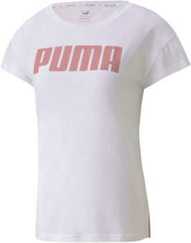 Puma Active Logo shirt Dames Wit