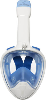 Atlantis 2.0 white/blue l/xl snorkelmasker Wit