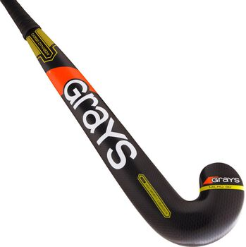 Grays GX3500 Dynabow hockeystick Heren Zwart