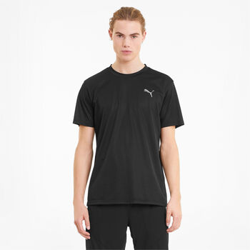 Puma Train Fave Blaster t-shirt Heren Zwart