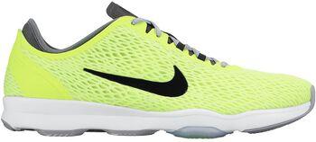 Nike Zoom Fit fitnessschoenen Dames Geel
