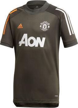 adidas Manchester United Training kids shirt 20/21 Jongens Groen
