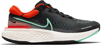 Nike ZoomX Invincible Run Flyknit hardloopschoenen Heren Zwart