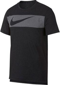 Nike Dri-FIT Breathe shirt Heren Zwart