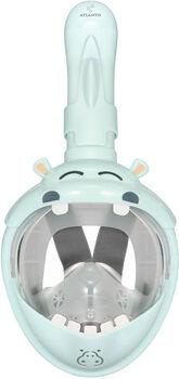 Atlantis kids hippo snorkelmasker Blauw