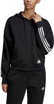 ADIDAS Must Haves 3-Stripes hoodie Dames Zwart