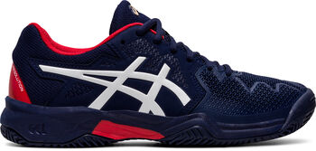 ASICS GEL-Resolution 8 Clay kids tennisschoenen  Jongens Blauw