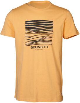 Brunotti Tim-Print t-shirt Heren Oranje