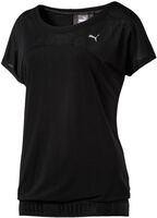 Puma Transition shirt Dames Zwart