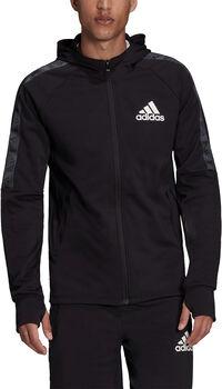 adidas AEROREADY Designed To Move Sport Motion Logo hoodie Heren Zwart