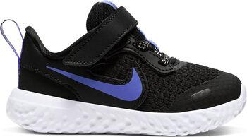 Nike Revolution 5 Glitter sneakers Jongens Zwart
