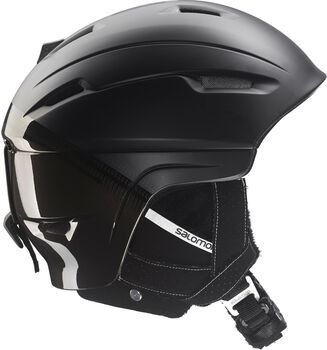 Salomon Ranger 4D Custom Air skihelm Heren Zwart