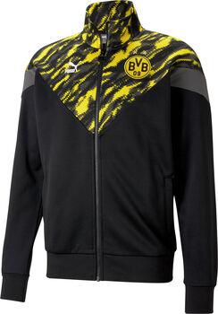 Puma Borussia Dortmund Iconic trainingsjack Heren Grijs