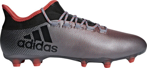 Adidas - X 17.2 FG voetbalschoenen - Unisex - Voetbalschoenen - Grijs - 41 1/3