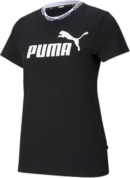 Puma Amplified Graphic shirt Dames Zwart