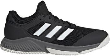 adidas Court Team Bounce Indoor Schoenen Heren Zwart
