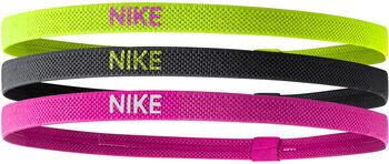 Nike Elastic haarbandjes (3 paar) Zwart