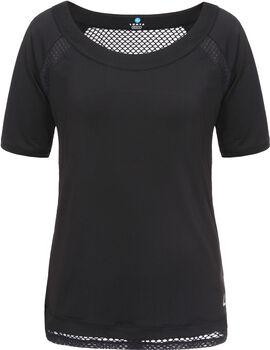 Luhta Carola shirt Dames Zwart