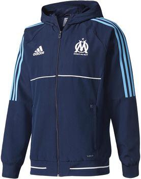 Adidas Olympique Marseille Presentatie Jack 2017-2018 Heren Blauw