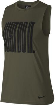 Nike Pro JDI top Dames Groen