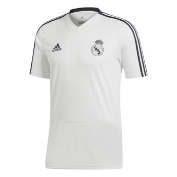 ADIDAS Real Madrid Trainingsshirt 2018-2019 Heren Wit
