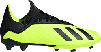 ADIDAS X 18.3 FG jr voetbalschoenen Geel