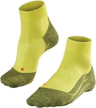 Falke RU4 Light Short sokken Heren Geel