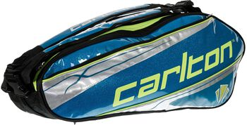 Carlton Kinesis Tour 6-racket Thermo tennistas Blauw