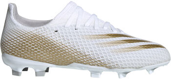 adidas X Ghosted.3 Firm Ground kids voetbalschoenen Wit