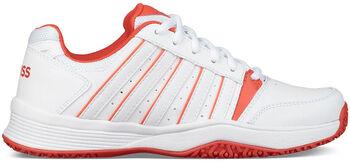 K-Swiss Courst Smash Omni tennisschoenen Meisjes Wit