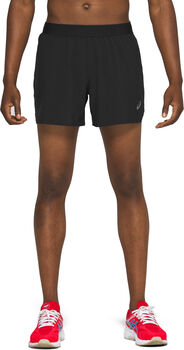 Asics Road 5-Inch short Heren Zwart
