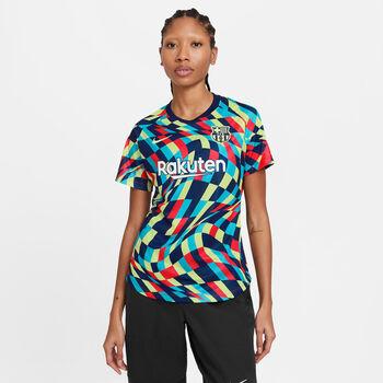 Nike FC Barcelona Academy Pro trainingstop Dames Blauw