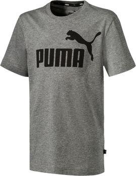 Puma Essential Logo shirt Grijs
