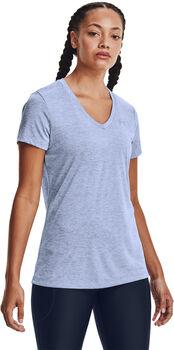 Under Armour Tech SSV Twist shirt Dames Blauw